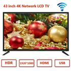 15'' 17'' 19'' 22'' 32'' 43'' 2K 4K HD LCD TV Flat Screen Television HDMI USB for sale  Shipping to South Africa