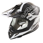 Chaos Kids Motocross Crash Helmet Black