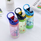 450ML Drinking Water Straw Bottle Sippy Suction Cup for Kids Baby Outdoor