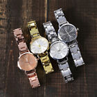 Women Casual Stainless Steel Marble Strap Watch Ladies Analog Wrist Watches ST image