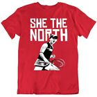 She The North Bianca Andreescu Canadian Tennis Star Tennis Fan v2 T Shirt
