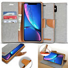 For iPhone 11 Pro Max Case Goospery [Canvas] Slim Wallet leather Case Cover