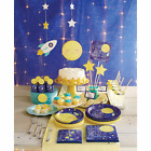 I Love You to the Moon Baby Shower Decorations; Tableware; Twinkle Twinkle star