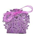 Butterfly Ribbon Gift Candy Paper Box Wedding Party Favor Paper Bag PLFJKUSJK