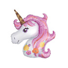 "44"" and 16"" Rainbow Pink Unicorn Balloon Foil Party Party Supply Celebration"