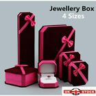 Jewellery Presentation Box Hot Ring Earring Bracelet Box Necklace Velvet Gift