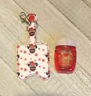 Christmas Minnie Mouse Hand Sanitizer Holder