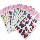 Large 3d Fluttering Butterfly Stickers  - Kids Wedding Home Decoration Crafting