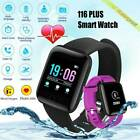 Smart Watch Bracelet Heart Rate Blood Fitness Tracker Waterproof For IOS Android
