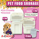 Pet Food Dog Cat Puppy Food Container Storage Dry Dispenser With Scoop And