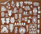 fgh   Halloween Card Topper Tattered Lace Scrapbook Paper Cut Out h