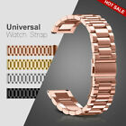 20mm Universal Watch Strap Metal Wristbands Bracelet Stainless Steel US STOCK image
