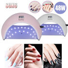 Lampada Unghie UV LED da 48W Manicure/Pedicure LED per Smalti in Gel con Timer