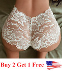 ?USA? Sexy Women Lace Thong G-string Panties Lingerie Underwear Crotchles T-back