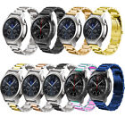For Samsung Galaxy Watch 42/46mm Gear S3 Stainless Steel Strap Metal Watch Band image