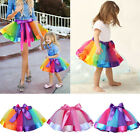 Family Clothes Mother Daughter Matching Ballet Women Girl Tutu Skirt Dresses US