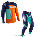 2020 Leatt GPX 4.5 Orange MX Motocross Combo Cross Hose Jersey Enduro BMX DH