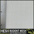 Stainless Steel Rat Rodent Mesh (16 LPI x 0.4mm Wire = 1mm Hole) Rolls & Sheets
