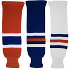 Edmonton Oilers Knitted Classic Pro Ice Hockey Socks - Orange Royal White $15.99 USD on eBay