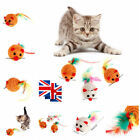 Sisal Rope Mouse Cat Toy Scratch Chew Play Teaser Funny Pet Kitten Gift 1-10 Pcs