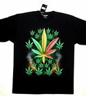 T-Shirt HD Rock Eagle Design Marijuana