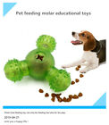 Pet Cleaning Molar Dog Teeth Cleaning Brush Toy Triangle Leak Food Training CS
