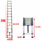 5 Meter Aluminium Telescopic Collapsible Retractable Telescoping Ladder Stairs