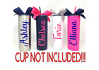 Personalized Name Custom Vinyl Decal For Your Tumbler Water Bottle Cup Sticker