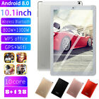 """10.1"""" Wifi/4g-lte Hd Ips Pc Tablet Android 8.0 Bluetooth 8+128g Dual Sim Camera"""