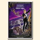 A View to a Kill 20x30/24x36inch 007 James Bond Movie Silk Poster Door Decor $13.05 CAD on eBay