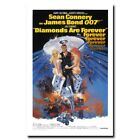 Diamonds Are Forever 20x30/24x36inch 007 James Bond Movie Silk Poster $9.99 USD on eBay