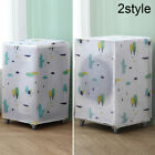 Waterproof Washing Machine Zippered Dust Cover Protector Top/Front Covering Mat