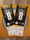 PITTSBURGH STEELERS VS LOS ANGELES RAMS 11/10, 2 TICKETS, SECTION 522 $249.0 USD on eBay