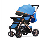 Baby Strollers 2 In 1  Lying and Sit High Landscape Two-way Folding Four-wheel