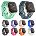 For Fitbit Versa 2 Replacement Strap Sports Silicone Wristwatch Band Bracelet US image