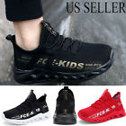 Kids Boys School Running Shoes Outdoor Tennis Jogging Shoes Breathable Sneakers