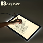 A3/A4 LED Tracing Light Box Artist Tattoo Board Pad Table Drawing Stencil Artist