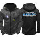 2019 Tennessee Titans Fan's Hoodie Sporty Jacket Sweater Zipper Coat Autumn Tops $24.6 USD on eBay