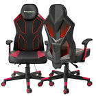 Office Gaming Chair High Back Leather 360° Swivel Rocker Racing Seat Desk Chair