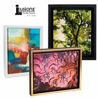 """Illusions Canvas Finished Art Floater Frame, 3/4"""" Deep Canvas For Float Effect"""