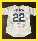 NEW 2019 CHRISTIAN YELICH MILWAUKEE BREWERS RETRO HOME WHITE JERSEY M L XL 2XL