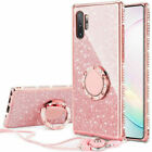 Bling Diamont Gilizer Hülle Tasche Ring SchutzCover Lanyard Samsung Note 10 Plus