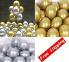 50Pcs Chrome Balloons 12Inch Glossy Metal Pearl Latex Thick Birthday Decoration