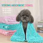 Home Grooming  Soft Warm Pet Bath Towel Fast Drying Water Absorption For Dog Cat