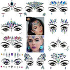 Kyпить Temporary Tattoo Rhinestone Decor Face Gems Jewels Sticker Festival Rave Party на еВаy.соm