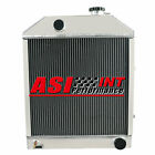 C7NN8005H 4 Rows Aluminum Radiator fit Ford/New Holland 2000 2600 3000 3600+ ap