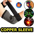 Elbow Brace Compression Support Sleeve Arthritis Tendonitis Reduce Joint Pain $8.97 USD on eBay