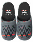 WWE Men's Grey Polyester Slip-On House Slippers