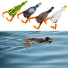 1PC Duck Soft Fishing Lure Top Water 3D Simulation Floating Artificial Bai%x image