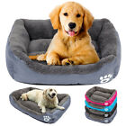 Dog Bed Mattress for Large Dogs Warm Fleece Cushion Sofa House Kennel Crate Mat